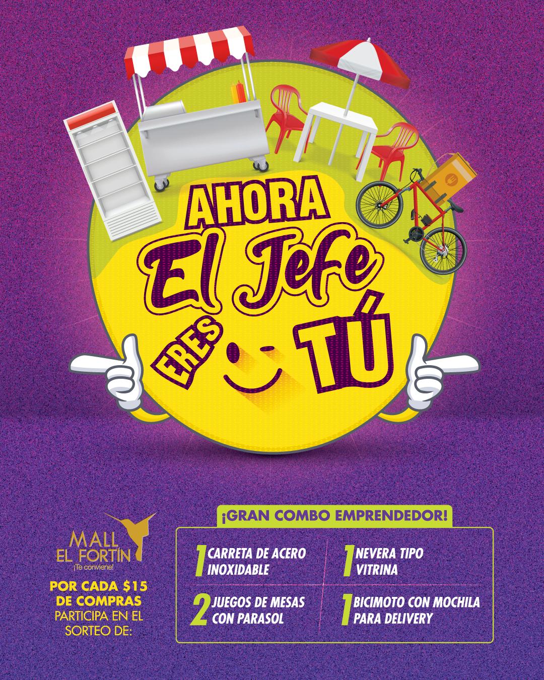 AHORA EL JEFE ERES TÚ DESDE EL 14/09/2020 HASTA EL 18/10/2020